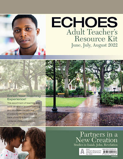 Echoes Adult Comprehensive Bible Study Teacher Resource Kit SummerSummer