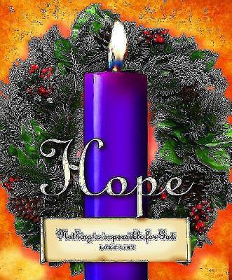 Advent Sunday 1 Purple Bulletin, Large (Pkg of 50)