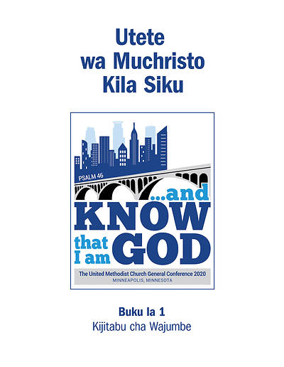 Picture of 2020 Daily Christian Advocate Kiswahili Handbook