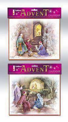 Shepherds & Manger Assortment Advent Calendar #CA681 [Pack of 12]