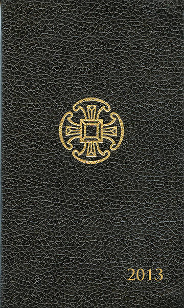 Christian Pocket Diary 2013