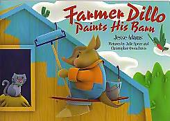 Picture of Farmer Dillo Paints His Barn