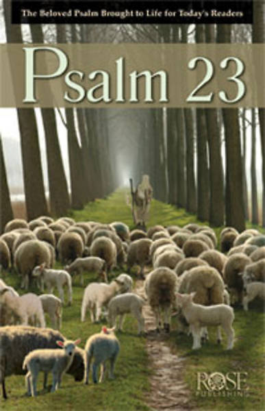 Picture of Psalm 23 Pamphlet