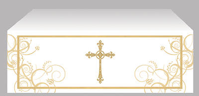 Easter Cross Economy Altar Frontal