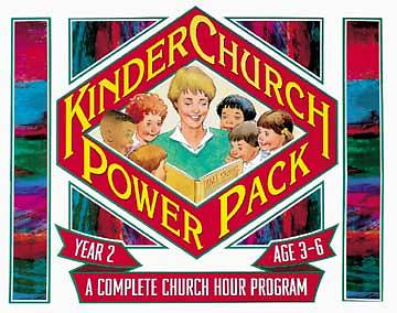 Kinderchurch Power Pack #2