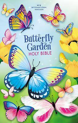 Picture of NIV Butterfly Garden Holy Bible, Hardcover, Comfort Print