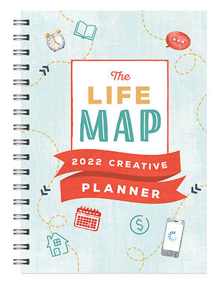 Picture of The Life Map 2022 Creative Planner