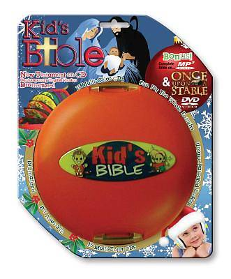 Kids New Testament-CEV [With Once Upon a Stable and Kids Bible]