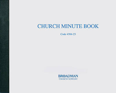 Picture of Church Minute Book