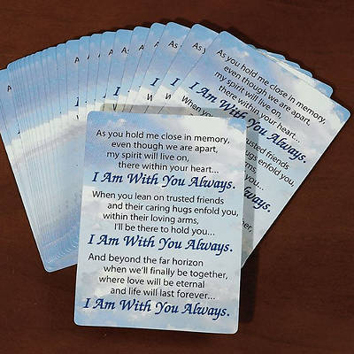 I Am With You Always Prayer Cards