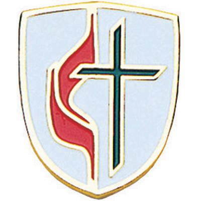 Picture of United Methodist Shield Lapel Pin