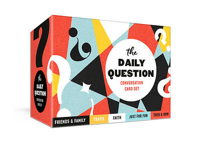 Picture of The Daily Question Conversation Card Set