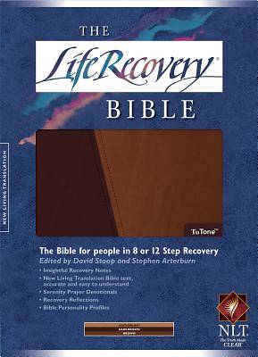 The Life Recovery Bible TuTone New Living Translation Full Size
