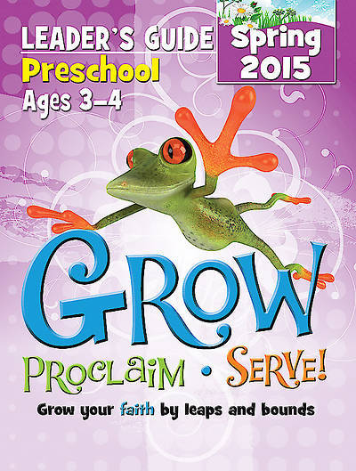 Picture of Grow, Proclaim, Serve! Preschool Leader's Guide Spring 2015 - Download Version
