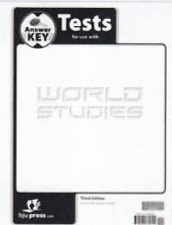 World Studies Test Answer Key 3rd Edition