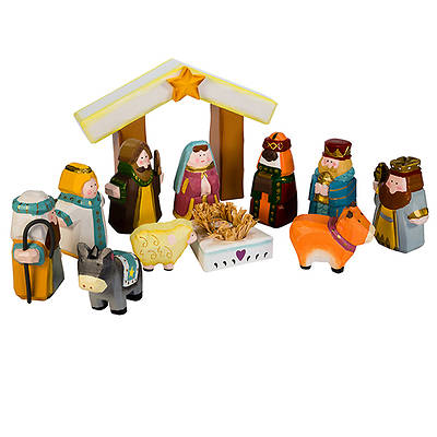 Nativity- Hand Crafted Wooden Set
