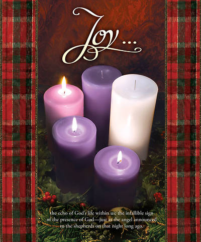 Advent Week 3/Joy Bulletin, Large (Package of 100)