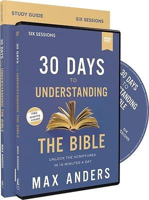Picture of 30 Days to Understanding the Bible Study Guide with DVD