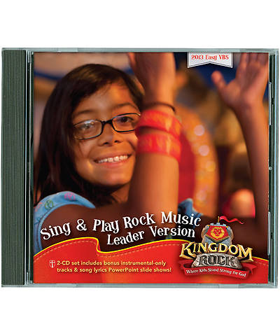 Group Vacation Bible School 2013 Kingdom Rock Sing & Play Rock Music Leader Version CD Set