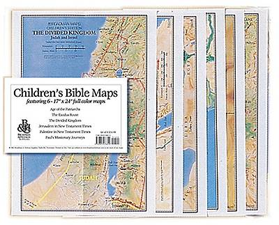 Childrens Bible Maps