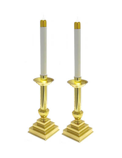Picture of Artistic RW 4124 Solid Brass Candlesticks