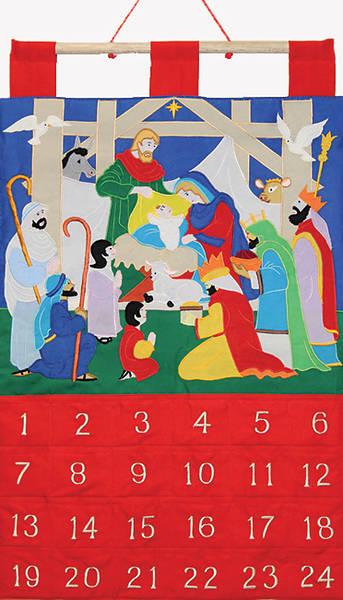 Picture of Alleluia Fabric Advent Calendar