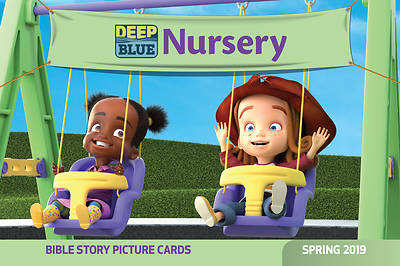 Deep Blue Nursery Bible Story Picture Cards Spring 2019