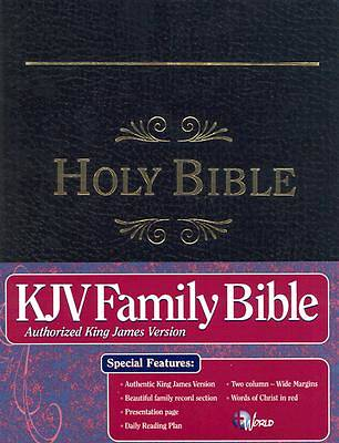 Picture of Family Bible-KJV