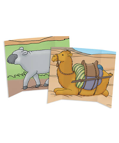 Picture of Tri-fold Camel/Sheep Prop (double-sided)