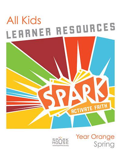 Picture of Spark All Kids Leaflet Year Orange Spring
