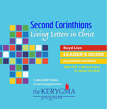 Kerygma- Second Corinthians:  Living Letters in Christ Leaders Guide CD-ROM/DVD Set