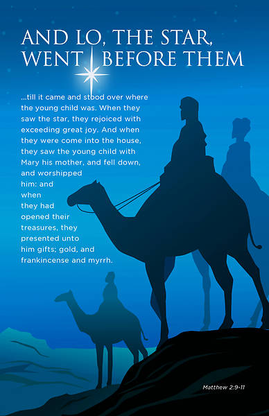 Picture of Lo The Star - Epiphany Christmas Bulletin
