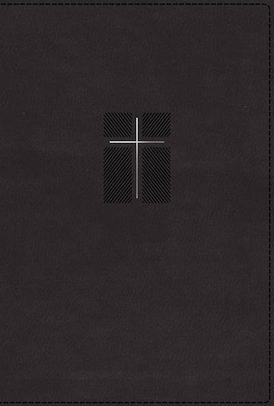 Picture of NIV, Quest Study Bible, Leathersoft, Black, Comfort Print