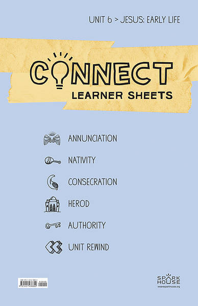 Picture of Connect Grades 5-6 Learner Leaflets Unit 6 Jesus Early Life