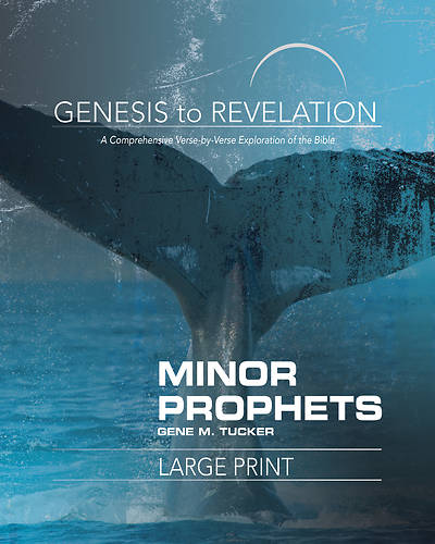 Picture of Genesis to Revelation Minor Prophets Participant Book [Large Print]