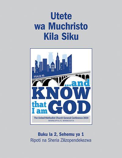 Picture of 2020 Mtetezi Wa Kikristo Wa Kila Siku Buku La2, Sehemu Ya 1 - Ripoti na Sheria Zilizopendekezwa