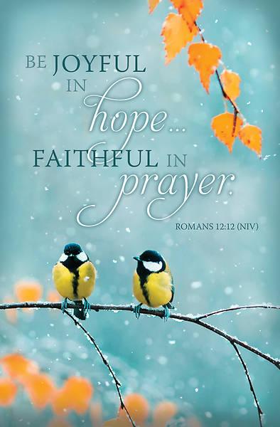 Picture of Be Joyful in Hope General Regular Size Bulletin