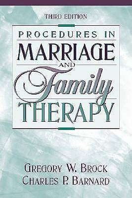 Picture of Procedures in Marriage and Family Therapy