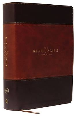 Picture of The King James Study Bible, Imitation Leather, Brown, Full-Color Edition