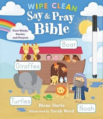 Picture of Say and Pray Bible Wipe Clean
