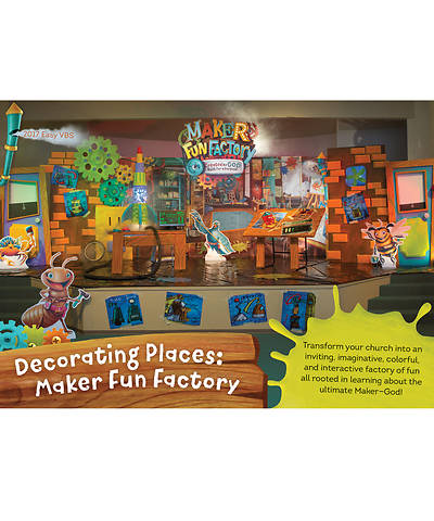 Vacation Bible School (VBS) 2017 Maker Fun Factory Decorating Places: Maker Fun Factory DVD