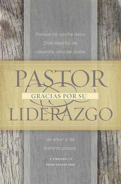 Picture of Thank You, Pastor Gracias Pastor (2 Timoteo 1:7, RVR 1960) Boletines de tamaño regular