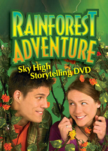 Augsburg Vacation Bible School 2008 Rainforest Adventure Sky High Storytelling DVD VBS