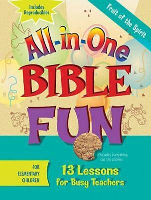 Picture of All-in-One Bible Fun for Elementary Children: Fruit of the Spirit