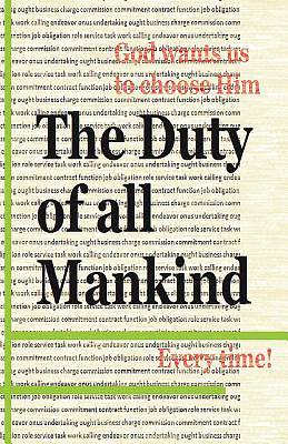 Picture of The Duty of All Mankind