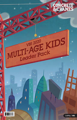 Picture of Vacation Bible School (VBS) 2020 Concrete and Cranes Multi-Age Kids Leader Pack