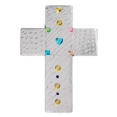 Picture of Vacation Bible School (VBS) 2020 Concrete and Cranes Etched in Steel Cross Craft Pack  Pkg 10