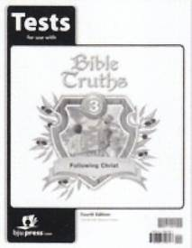Bible Truths Grade 3 Test 4th Edition