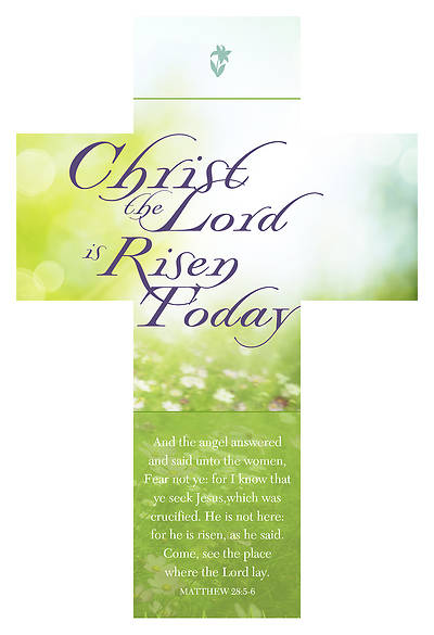 Picture of Christ the Lord is RisenToday  Easter Bookmark
