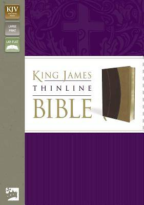 King James Version Thinline Bible, Large Print